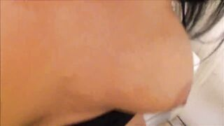Son Cums Inside Thick Step Mommy Doing Laundry -Family Therapy